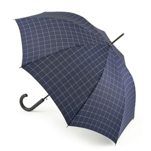 Checked Umbrella - Fulton Umbrella - Shoreditch - Window Pane Check