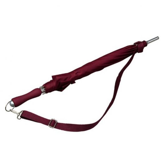 Maroon Shoulder Strap Umbrella