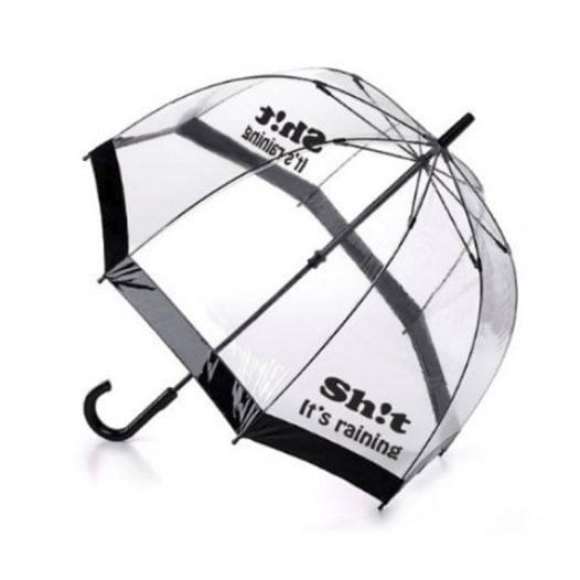 Sh!t It's Raining Dome Umbrella