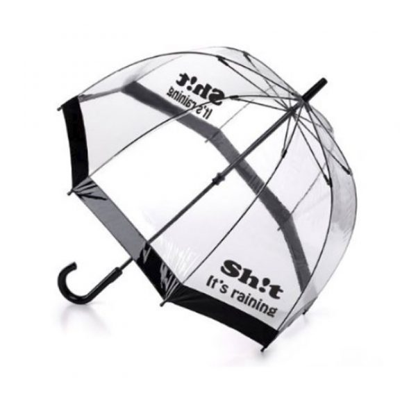 Sh!t It's Raining Dome Umbrella