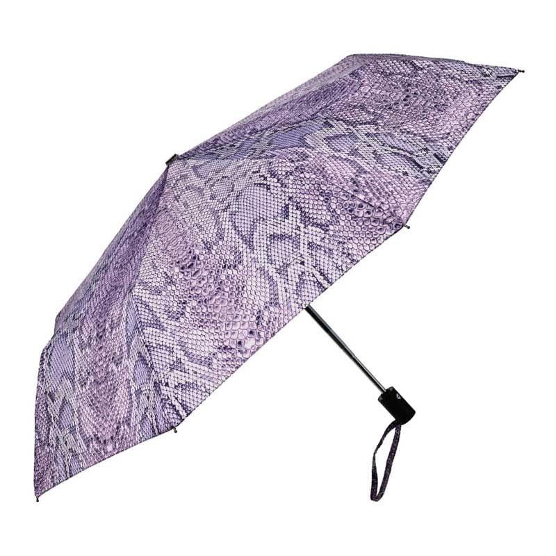 Snakeskin umbrella open