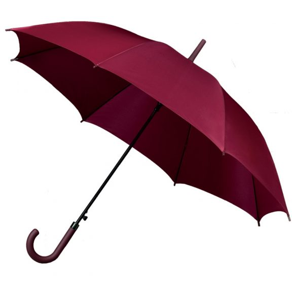 Standard Maroon Walking Umbrella