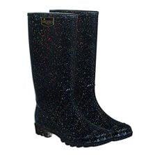 Glitter Wellies / Ladies Glitter Stardust Wellington Boots