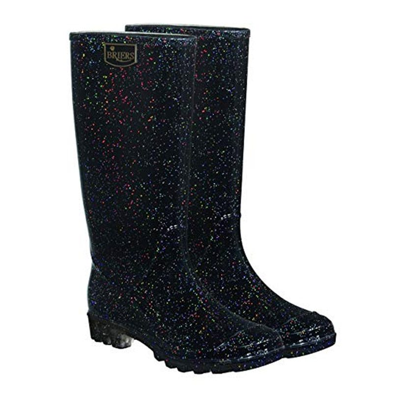 Glitter Wellies / Ladies Glitter Stardust Wellington Boots