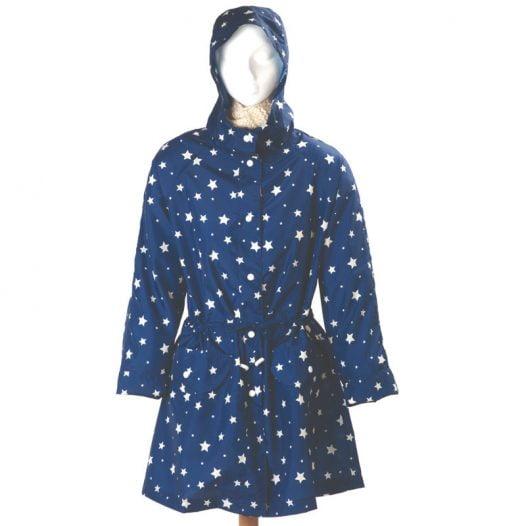 Emma B Stars Rain coat