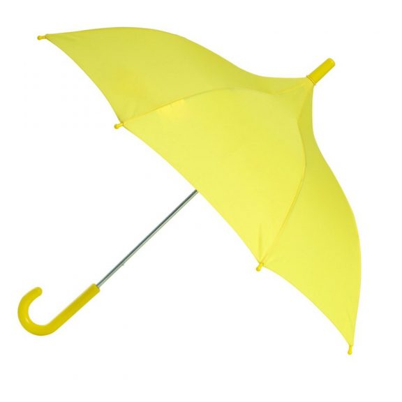 Yellow Kids Umbrella - Sunshine Yellow