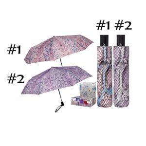 snakeskin designer compact umbrella