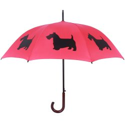 Scottish Terrier Dog Print Umbrella