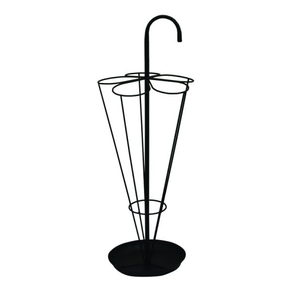 Umbrella shaped umbrella stand