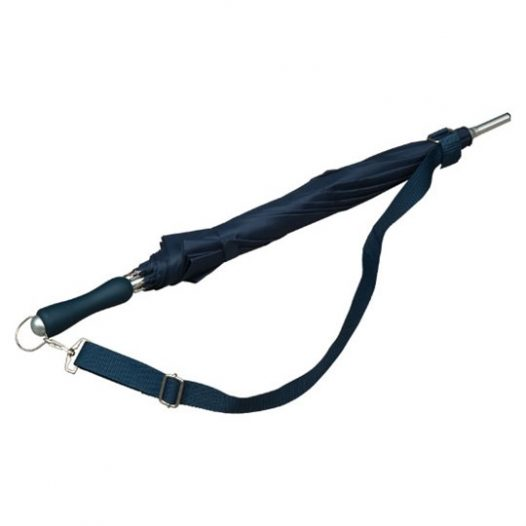 Dark Blue Shoulder Strap Umbrella