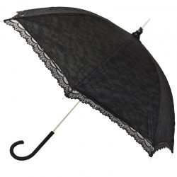 Victorian Black Lace Umbrella