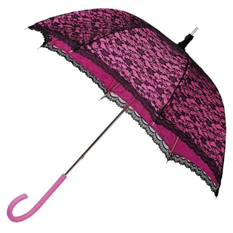 Modern Victorian Pink Lace Umbrella