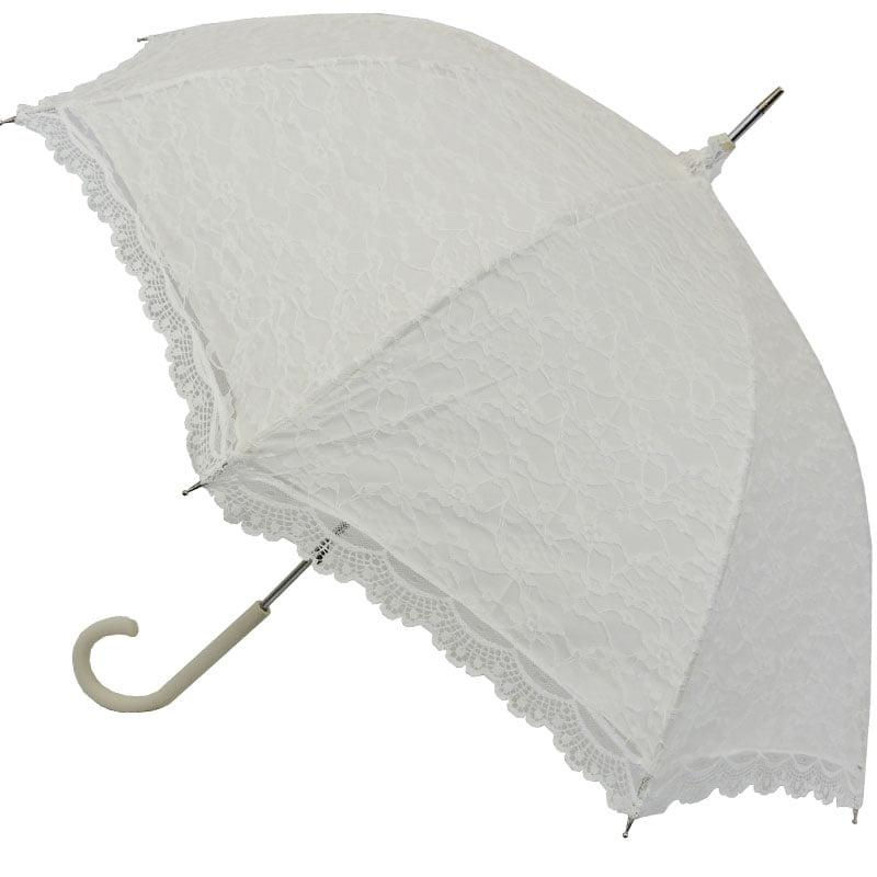 Victorian White Lace Umbrella