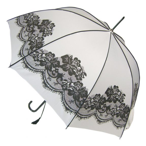 White Vintage Umbrella