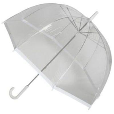 Vision Dome Clear White Umbrella