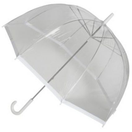 Vision Dome Clear White Umbrella