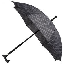 Specialty Walking Stick Umbrella - Checked