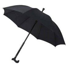 Walking Stick Umbrella - Black 1