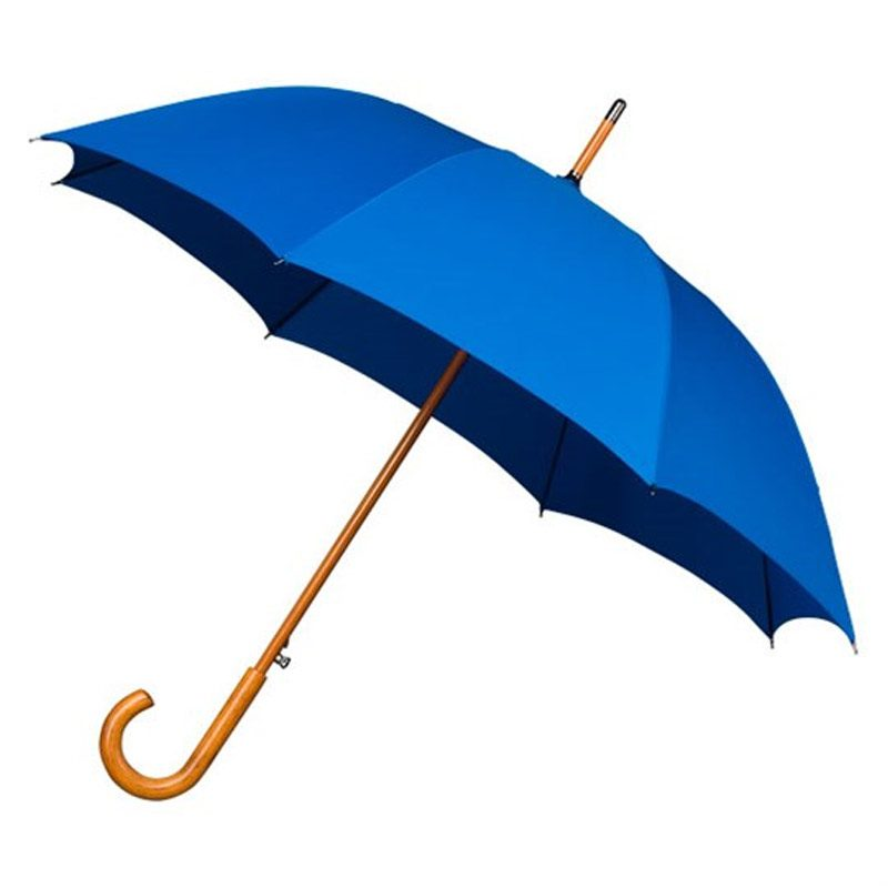 Warwick Mid Blue Windproof Walking Umbrella