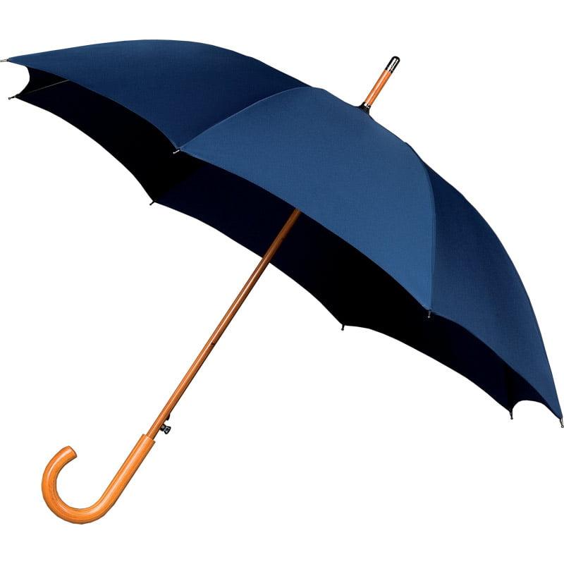 Warwick Dark Blue Windproof Walking Umbrella