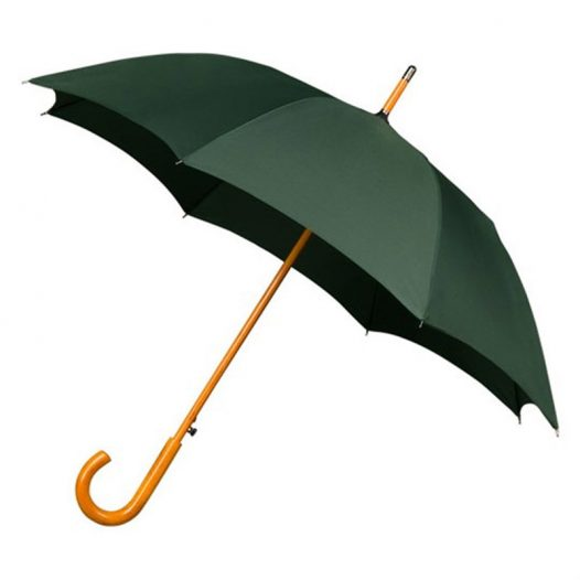 Warwick Windproof Green Walking Umbrella