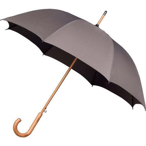 Warwick Windproof Grey Walking Umbrella