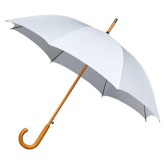 Warwick Windproof White Walking Umbrella