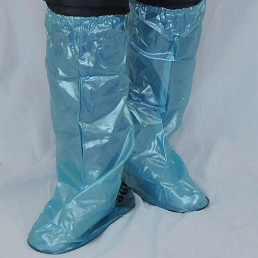 Waterproof Shoe Covers - Aqua