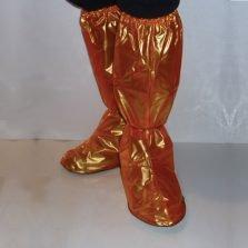 Waterproof Shoe Covers - Orange