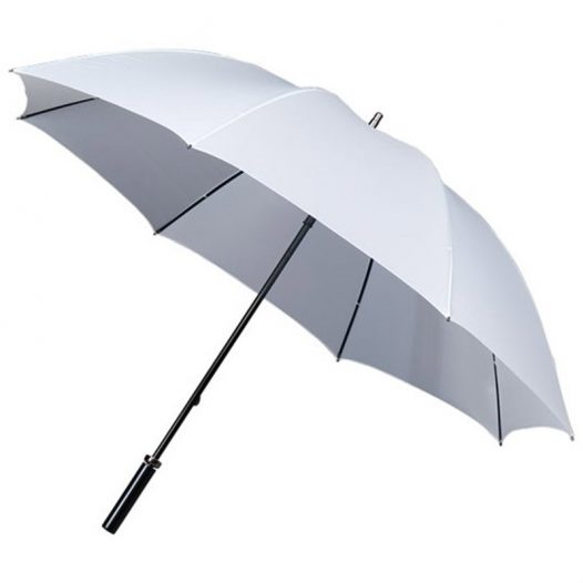 white golf umbrella