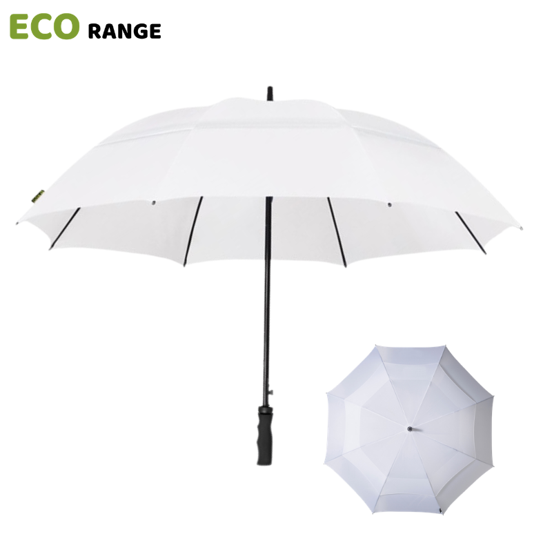 White ECO Golf Umbrella