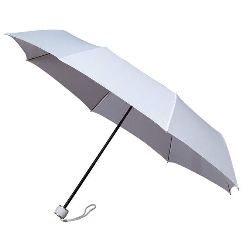 White Folding Umbrella - MiniMax Travel Umbrella - White