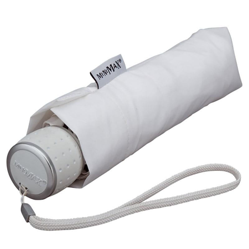 f45ad6f1a White Folding Umbrella / MiniMax Travel Umbrella - Umbrella Heaven