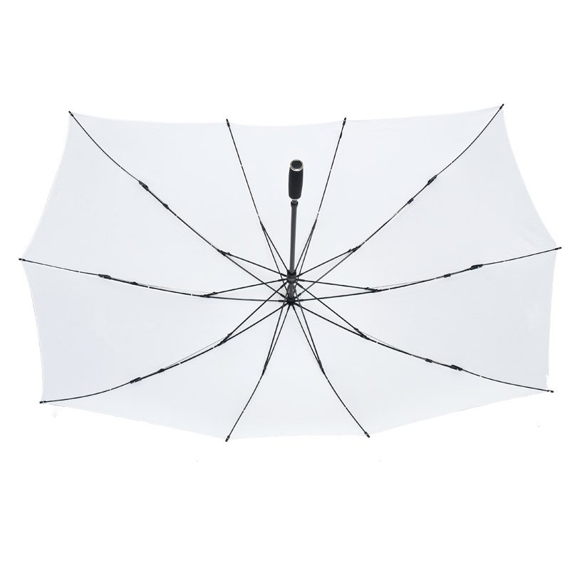 Duo White Double Umbrella
