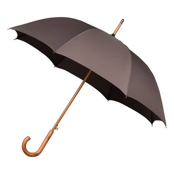 Wood Stick grey umbrella