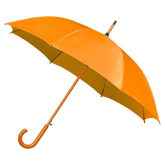 stick umbrella mustard