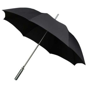 Aluminium Black Sports Golf Umbrella