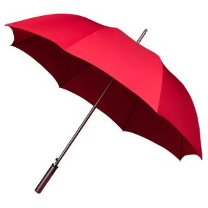 Aluminium Rich Red Sports Golf Umbrella