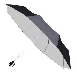 Black Auto Opening - UV Travel Umbrella