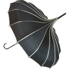 Pagoda Umbrella - Princess - Black