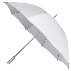 Bedford White Wedding Parasol