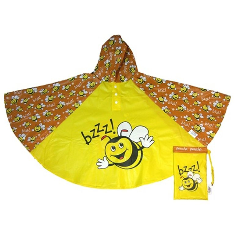 bee poncho cut out