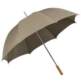 Budget Golf Umbrella - Beige