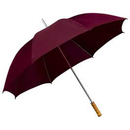 Budget Golf Umbrella - Maroon