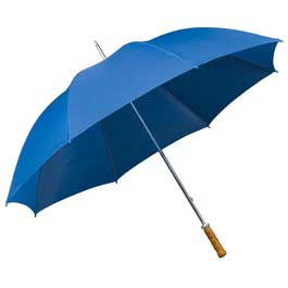 Budget Golf Umbrella - Bright Blue