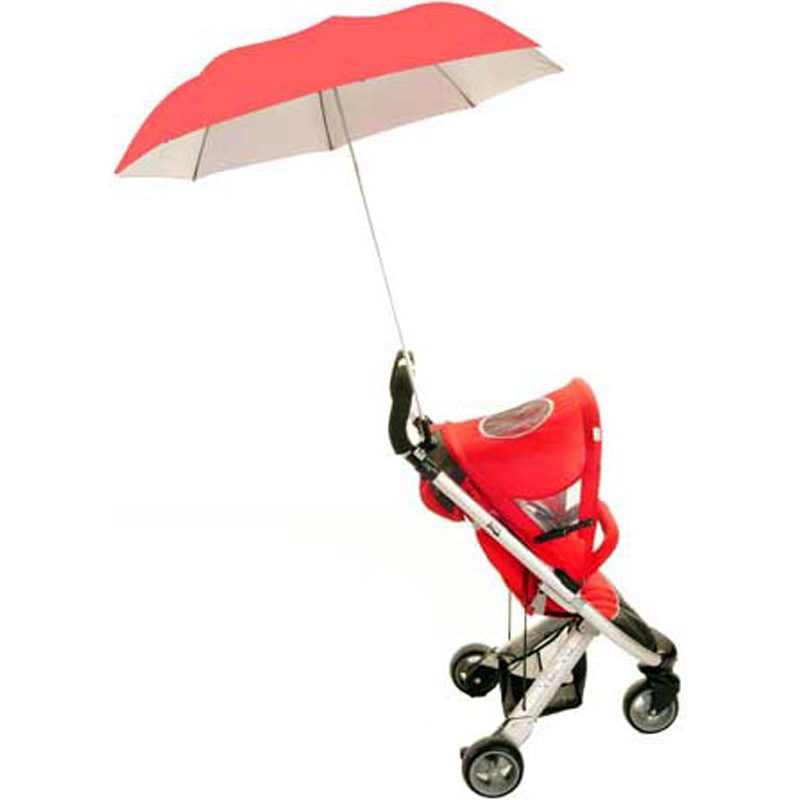 pushchair umbrella buggy brolly coral