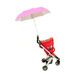 Buggy Brolly Pink Stroller Umbrella