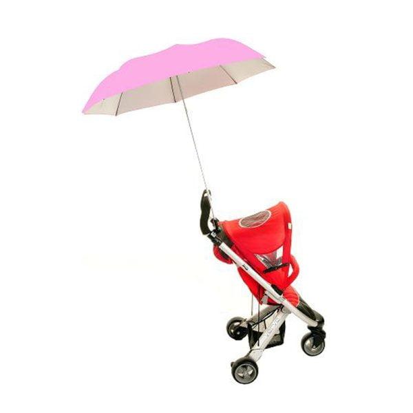 Buggy Brolly Pink Stroller Umbrella