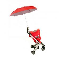 Stroller Umbrella / buggy brolly vented red