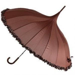 Burlesque Ruffle Umbrella - Monique